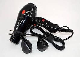 Фен для укладання волосся сушіння ROZIA HC-8301 потужність 2000 вт, 3 режими