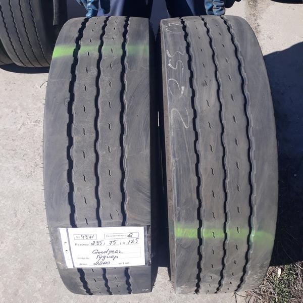 Грузовые шины б.у. / резина бу 235.75.r17.5 Goodyear K MAX T Гудиер