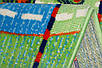 "Ковер для детской комнаты ""Тачки дорога"", цвет синий.  Ковер Тачки Киев цена, фото 2"