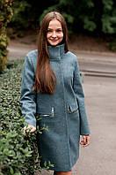 Пальто женское модель 191 полынь