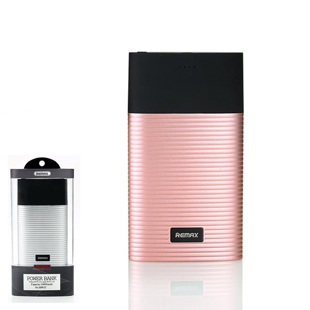 Портативное зарядное устройство (Power Bank) Remax Perfume RPP-27 10000mAh Pink