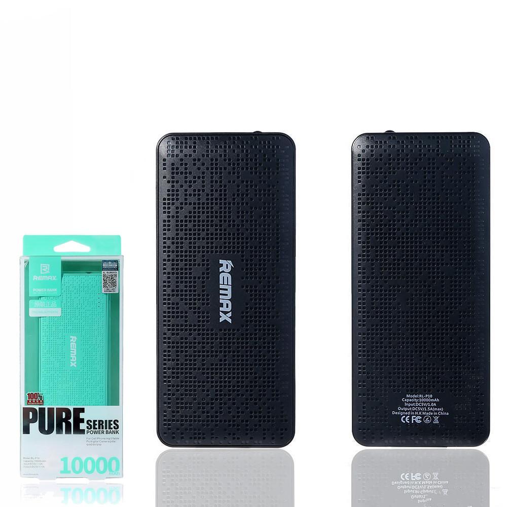 Портативное зарядное устройство (Power Bank) Remax Pure RPL-11 10000mAh Black