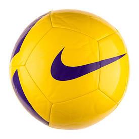 М'ячі TEAM-каталог Мяч футбольный Nike PITCH TEAM SC3166-701(02-02-07-03) 5