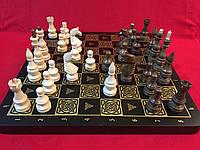 Шахматы деревянные подарочные 44 см Украина с фигурами ручной работы из ореха