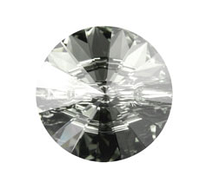 Пуговицы Swarovski 3015 Black Diamond