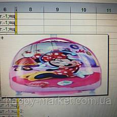 Валіза дитячий дорожній якість Люкс ручна поклажа Josepf Ottenn Мінні маус 16-JDX-46-1, фото 2