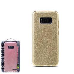 Чехол Remax Glitter Series Case для Samsung S8 Gold