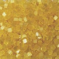 Бісер чеська рубка 05181 сатин блідий жовтий  світлий, розмір 10/0 (упаковка 50грам)