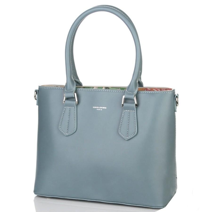 df17d172 Сумка женская модная David Jones 5901-1 голубая - Интернет-магазин