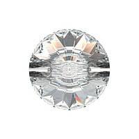 Пуговицы Сваровски 3015 Crystal ss 10