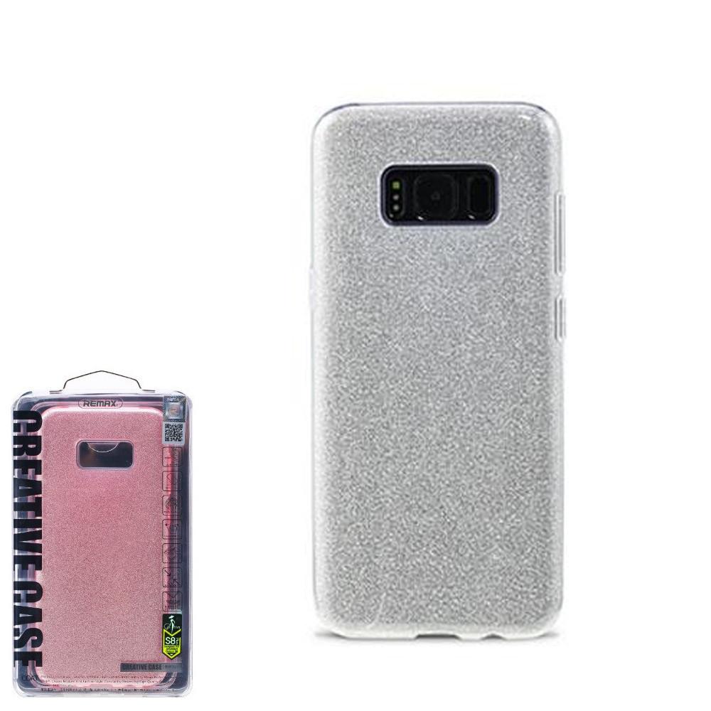 Чехол Remax Glitter Samsung S8 Plus Silver