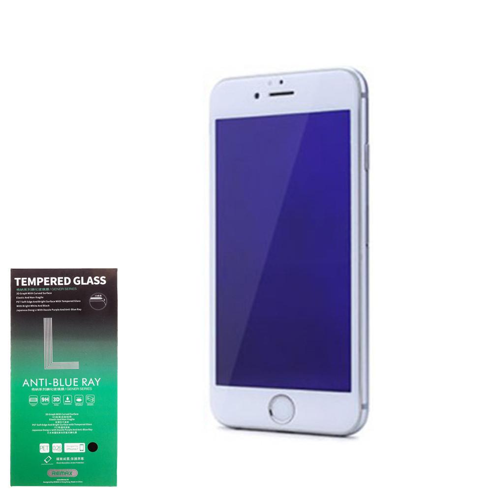 Защитное Стекло Remax Gener 3D Anti Blue-ray Glass for iPhone 7 Plus White
