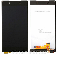 Дисплей (экран) для Sony E6603 Xperia Z5, E6653, E6683 + тачскрин, цвет черный
