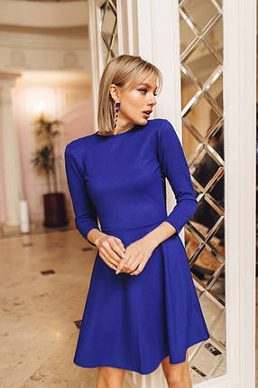 """Нарядное приталенное платье-мини """"SHIREN"""" с открытой спиной (3 цвета), фото 2"""