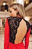 """Нарядное приталенное платье-мини """"SHIREN"""" с открытой спиной (3 цвета), фото 5"""