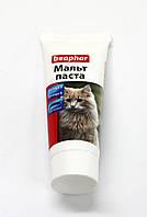 Малт Паста для кошек для выведения шерсти из желудка 25 г Beaphar