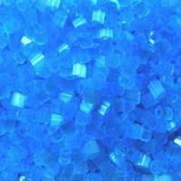 Бісер чеська рубка 05134 сатин блакитний світлий блідий, розмір 10/0 (упаковка 50грам)