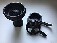 Комплект чёрный калауд лотус с 2-мя ручками + классическая силиконовая чаша