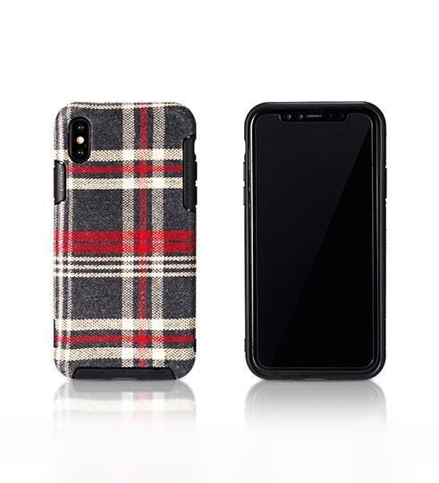 Чехол Remax Fabric Series Case for iPhone X RM-1648 Red