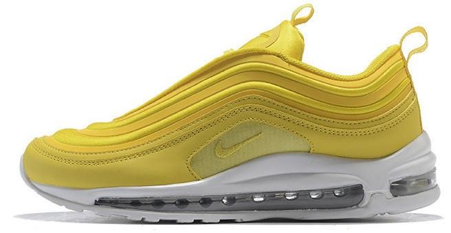 2bc84b0a Женские кроссовки Nike Air Max 97 Yellow (найк аир макс 97, желтые ...