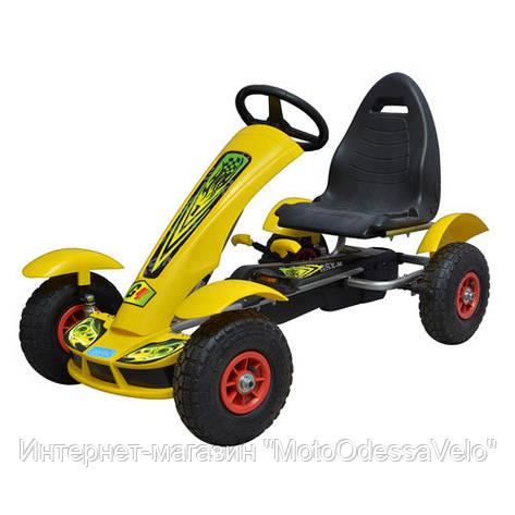 Педальная машинка Bambi КАРТ  M 1450-6, фото 2