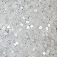 Бісер чеська рубка 05051 сатин сніговий білий, розмір 10/0 (упаковка 50грам)