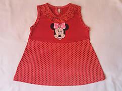 Платье детское с Микки Маусом на рост 81-87см