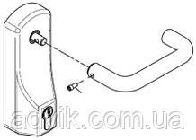 Внешняя нажимная ручка Geze OAD 100 L EC с полуцилиндром