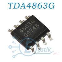 TDA4863G, PFC контроллер, SOP8