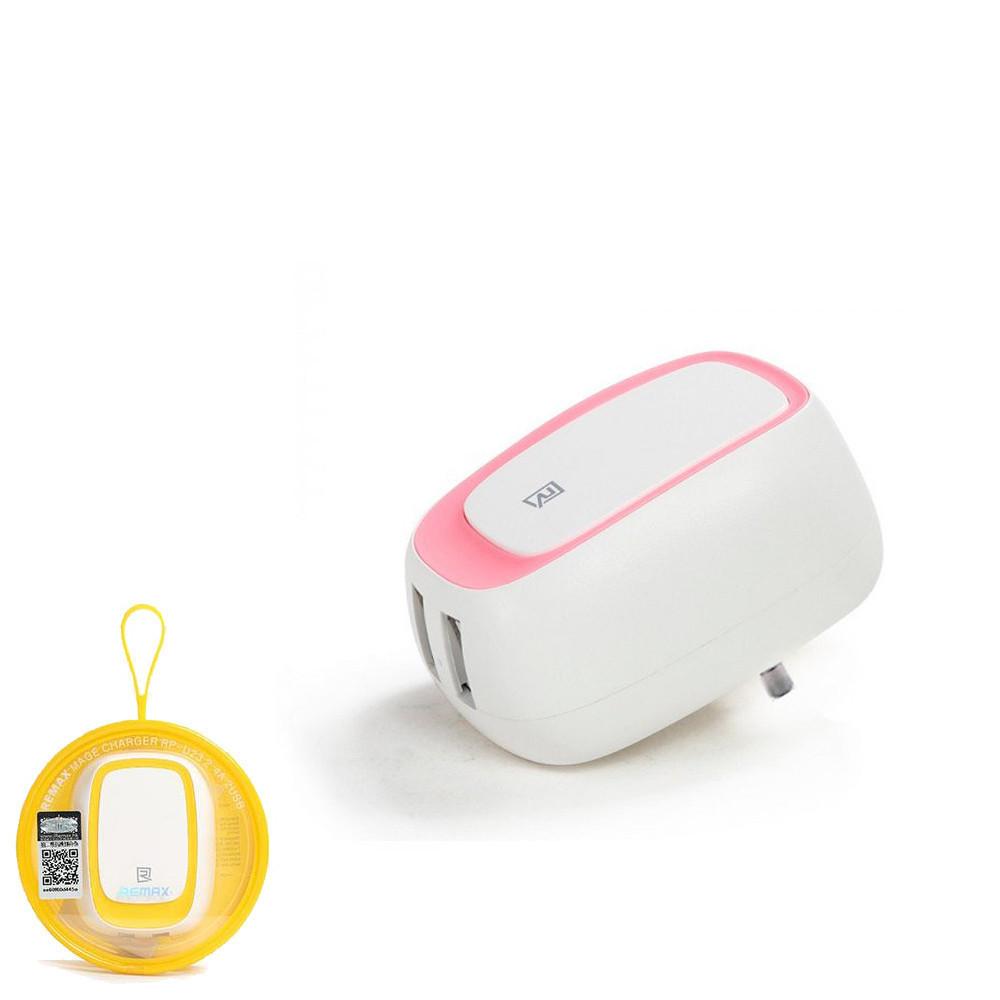 Зарядное устройство Remax RP-U23 Pink