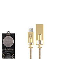USB кабель Remax Royalty RC-056i Lightning 1m Gold