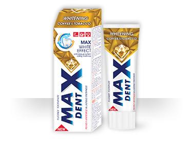 Зубная паста MAXDENT Whitening Coffee & Tobacco (75мл.)