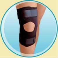 Бандаж на коленный сустав с металическими шарнирами KN-70s, М