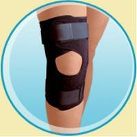 Бандаж на коленный сустав с металическими шарнирами KN-70s, XXL