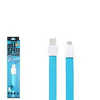 USB Data кабель Remax Full Speed 2 RC-011m MicroUSB 1m Blue