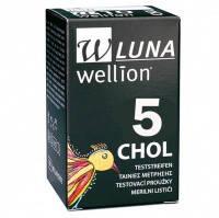 Тест-полоска к глюкометру Wellion Luna холестерин №5