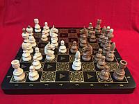 Шахматы деревянные подарочные  44 см Украина с фигурами ручной работы из черешни