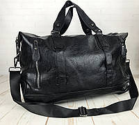 2fc485348fec Мужская дорожная сумка. Сумка для поездок, командировок Черная КСД3