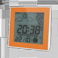 Термо-гигрометр цифровой с часами Т-06