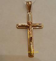 Крестик золотой .