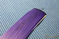 Канекалон цветные пряди для волос на заколке, длина: 50 см, ширина 3.5 см, 1 штука