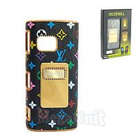 Nicephill Гламурный чехол для Nokia X6 #Louis Vuitton flowers black
