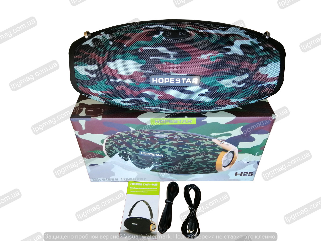 Портативная акустика H25 HopeStar