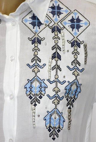 Жіноча сорочка з вишивкою, фото 2