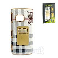 Nicephill Гламурный чехол для Nokia X6 #Burberry white, фото 1