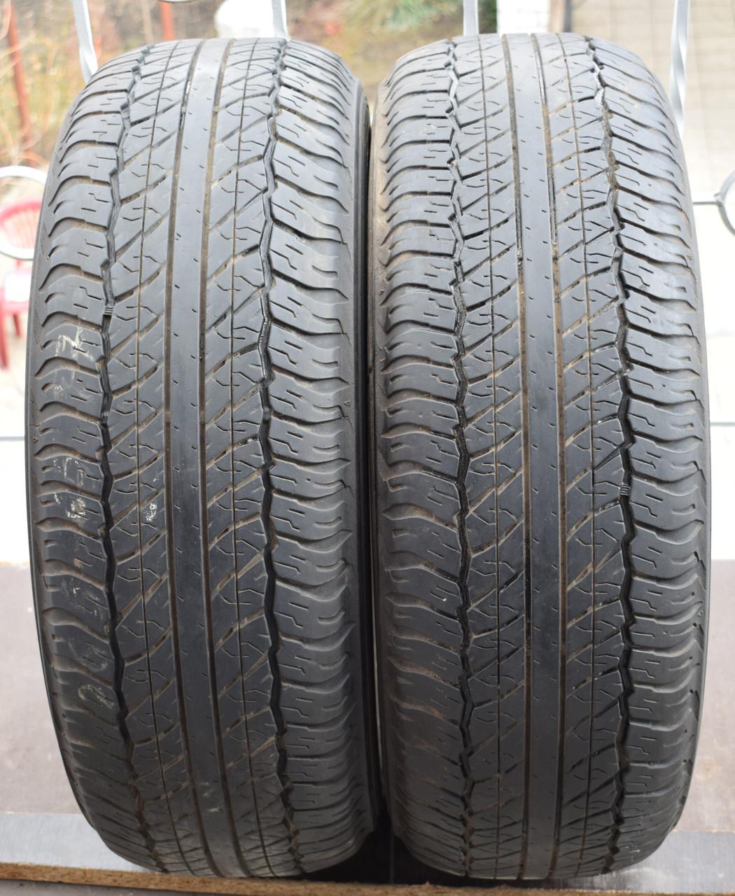 Шины б/у 265/65 R17 Dunlop GrandTrek, пара, 5-6 мм
