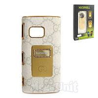 Nicephill Гламурный чехол для Nokia X6 #Gucci white