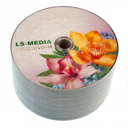 LS-MEDIA DVD-R 4.7Gb 16x bulk 50 ОРХИДЕИ