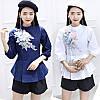 Молодежная рубашка с поясом 44-46 (в расцветках), фото 3