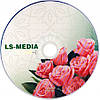 LS-MEDIA DVD-R 4.7Gb 16x bulk 50 РОЗЫ, фото 2